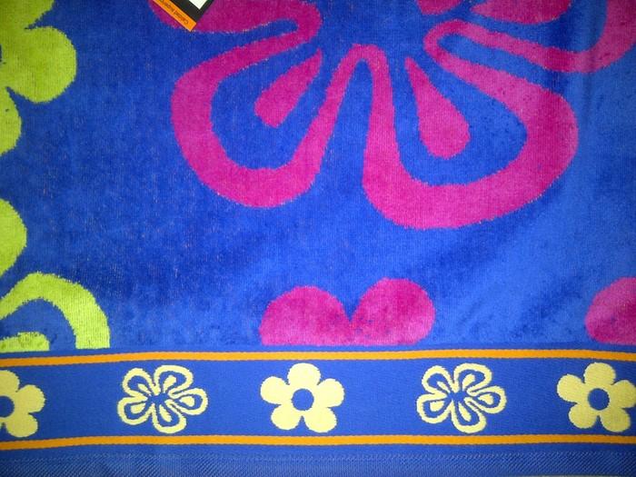 jumbo extra large beach towel bath sheet egyptian cotton orange blue - Large Beach Towels