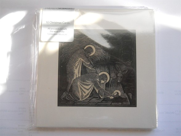 10 Christmas Cards - Ashmolean Museum Benefit - Nativity - Gwendolen Raverat (1885-1957)