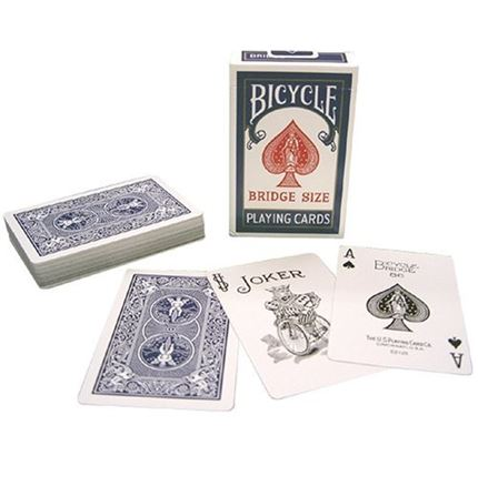 2 packs - Bicycle - Quality Playing cards - Bridge size