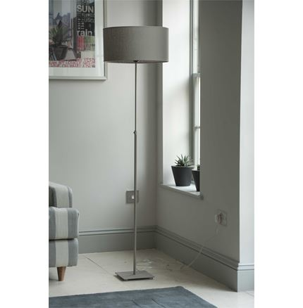Baltic Floor Lamp - Stone - with cone shade only