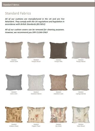 Cane furniture - Habasco / Pacific Lifestyle Fabrics for 2014