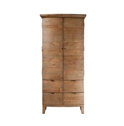EX DISPLAY Small Wardrobe - Bermuda Bedroom Furniture