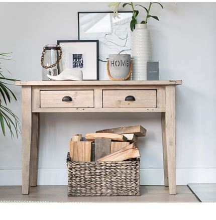 EX DISPLAY Valetta Dining Furniture - Console Table