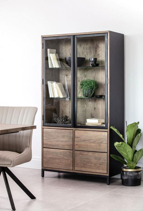 EX Display Manhattan Display Cabinet