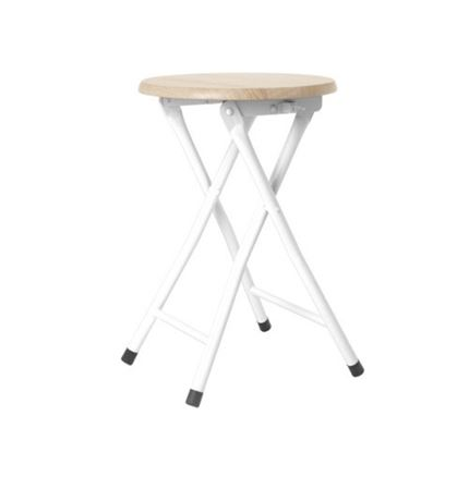 Foldable Stool - White