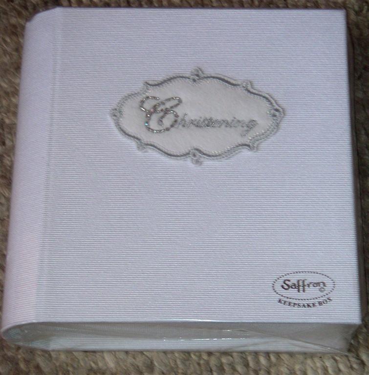 Keep Sake Box - Christening (by Saffron)