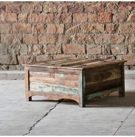 Little Tree Reclaimed Furniture - Mary Rose / Riya Upcycled Trunk Coffee Table
