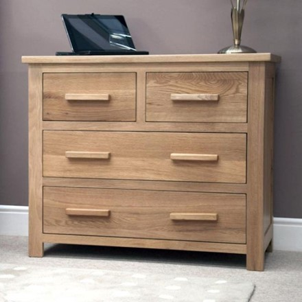 Opus Oak 2 Over 2 Drawer Chest