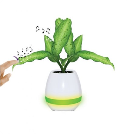 Plant Pot Piano Speaker