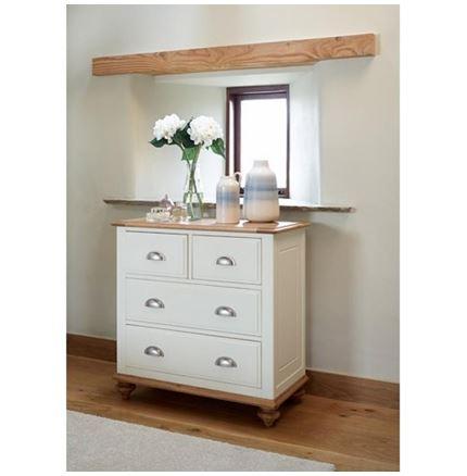 Salisbury Bedroom Furniture - 2 over 2 Drawer Chest
