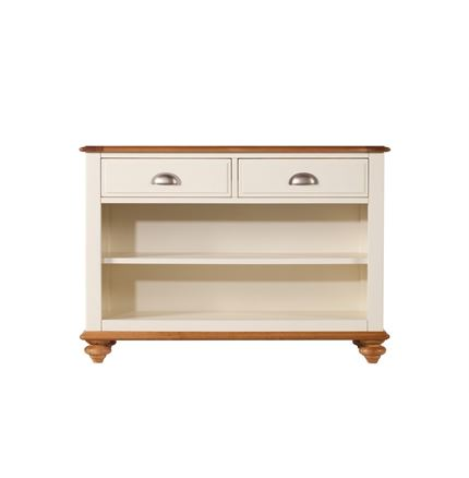 Salisbury Dining Furniture - Console Table - Low Book Case
