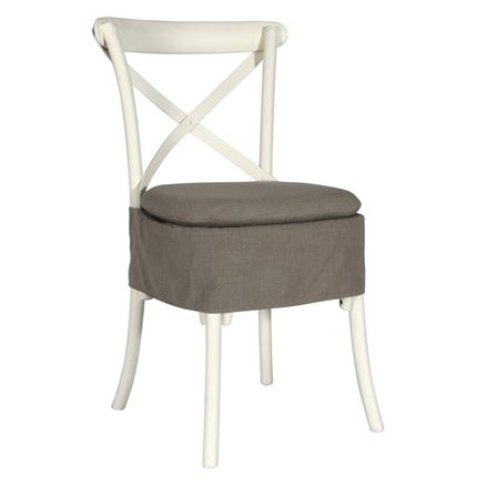 Seat Pad for Canterbury and Brittany Cross Back / bent wood Dining Chairs - CUSHION PAD ONLY