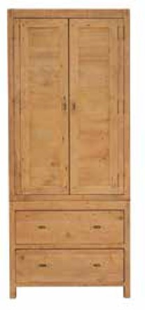 Sienna Bedroom Furniture - Small Double Wardrobe