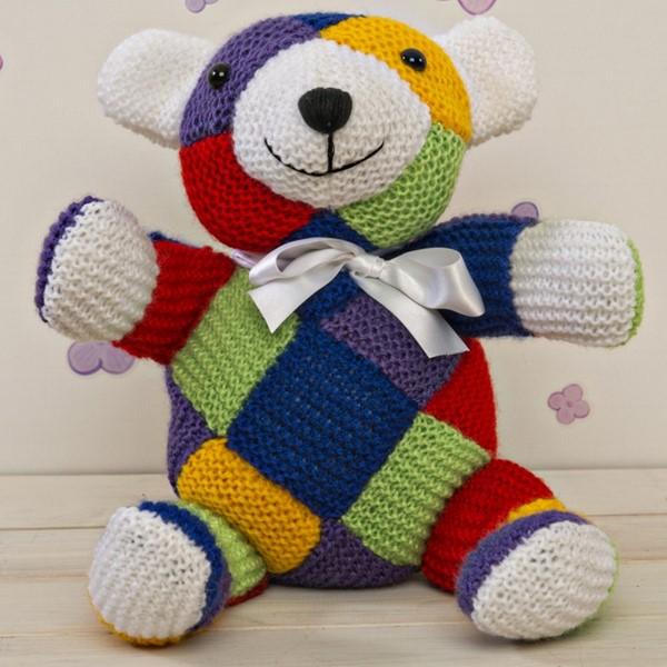 Harley Bear Knitting Kit