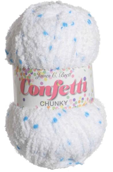 James C Brett Confetti Chunky 100g Yarns Wool4less