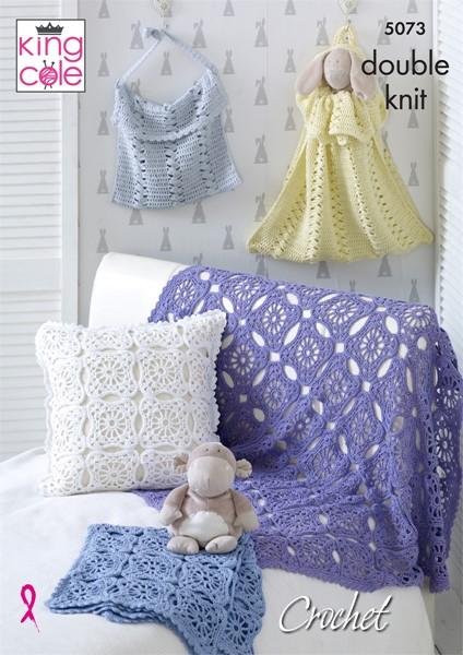 King Cole Cottonsoft Dk Crochet Pattern Kc5073