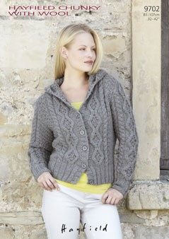 Free Sirdar Knitting Patterns To Download : Sirdar Hayfield Chunky PDF Downloadable Pattern S9702