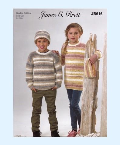 8983a3f2b4c75 ... James C Brett Driftwood DK Pattern JB616 thumbnail · JB616 thumbnail