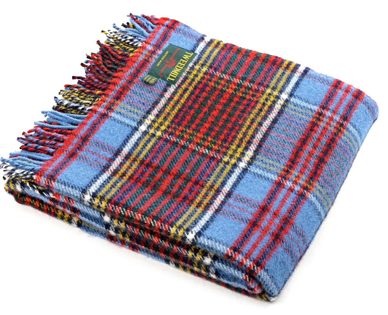 Wool Blanket Online British Made Gifts Anderson Tartan