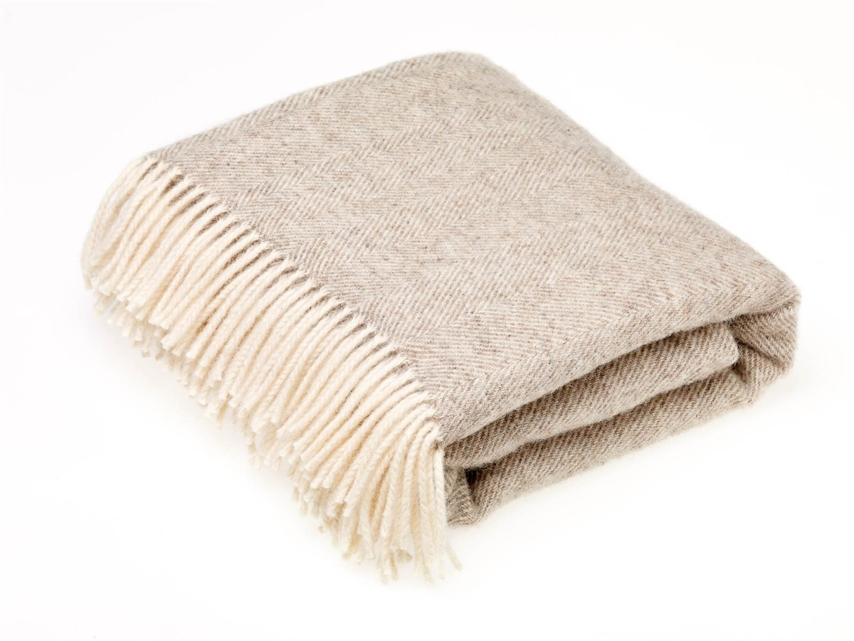 Wool Blanket Online British Made Gifts Natural