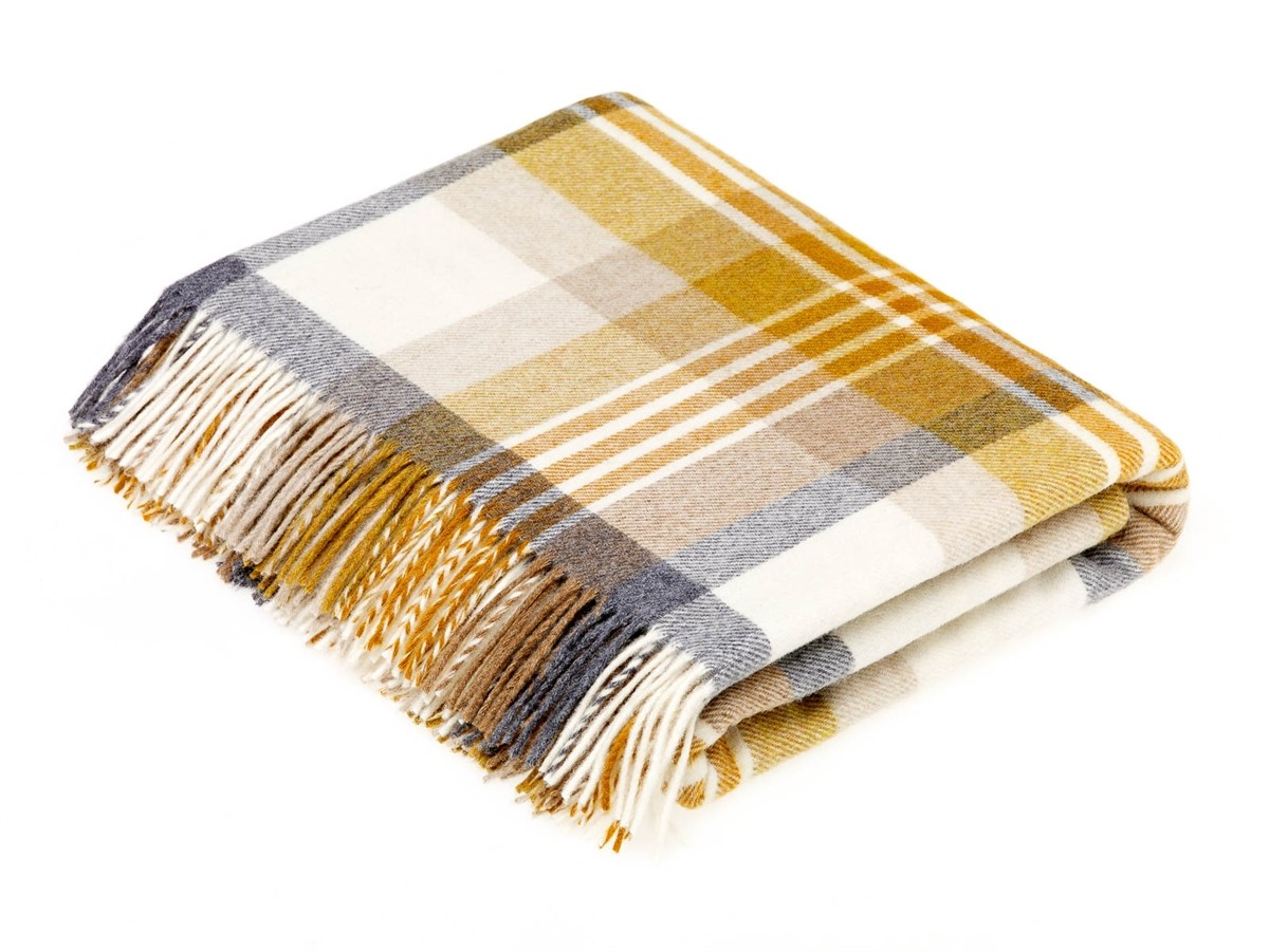 Wool Blanket Online British Made Gifts Melbourne Check